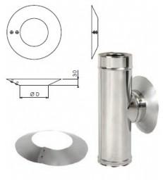 MP D200 - DP D150 - Rosace conique - Inox