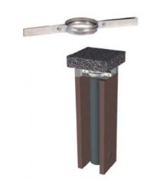 MP D200 - DP D150 - Support pour tuyaux flexible - Inox