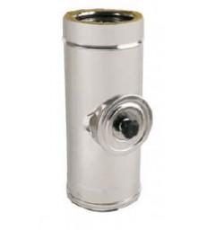 DP150 - Module inox avec trappe de visite Haute température - L  270mm