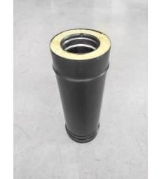 DP D150 : Elément droit 50cm - inox noir - 150/200