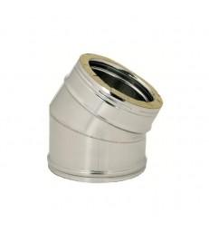 DP D250 : Coude 30° inox